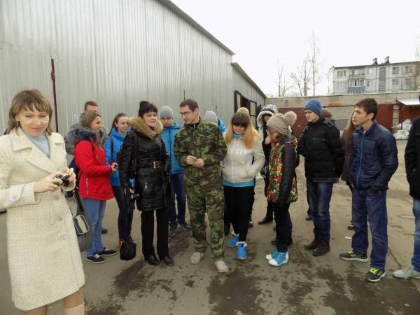 беседа ученика с бывшим педагогом Серовой Людмилой Анатольевной